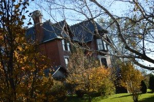 The Brucemore mansion in Cedar Rapids is shown earlier this fall. A new historic preservation program at Kirkwood Community College will focus on historic preservation. (photo/Cindy Hadish)